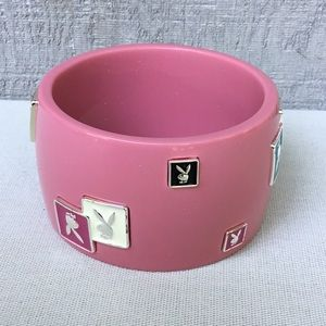 Playboy Cuff Bangle Bracelet